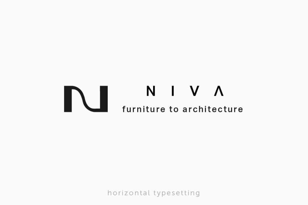 大阪府大阪市にあるオーダー家具屋さんのロゴ 横位置バージョン