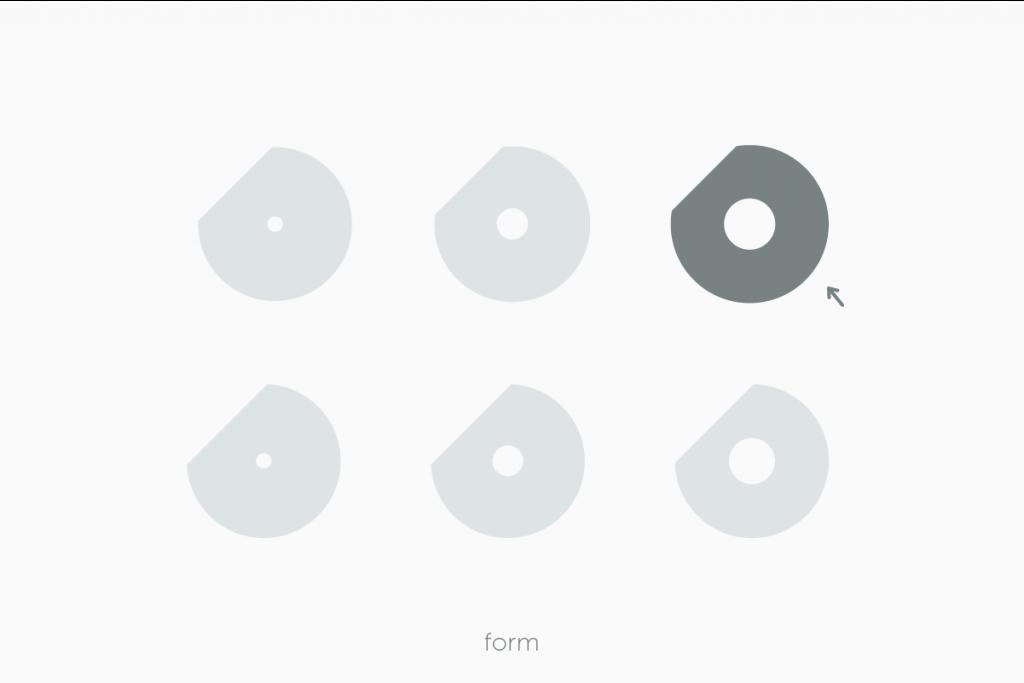 DOUロゴの形を決める過程